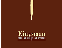 Kingsman - The Secret Service Minimalilst Movie Poster