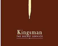 Kingsman - The Secret Service Minimalilst Movie Poster