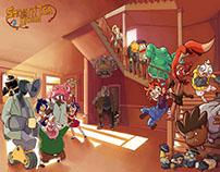 Smooth Tea Lyceum - Preproducción serie animación