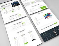 JabHost Website Template Design For Hosting Company.V-2