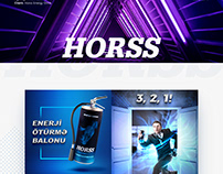 Horss Energy Drink SMM