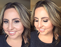 Emily - Bridesmaid Makeup