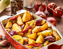 Rustic Fried Potatoes!