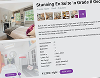Daily UI 67 - Hotel Booking