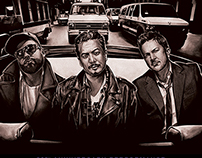Fun Lovin' Criminals - 20th Anniversary Tour Artwork