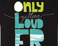 Loudest crew - T-shirts.
