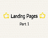 Landing Pages Part 1