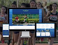 Website wordpress | Athletics team