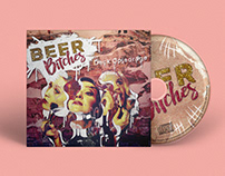 Beer B*tches - Deck Opjedrage (Album Cover Art)