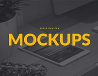 Apple Devices PSD Mockups