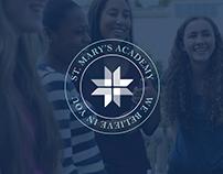 St. Mary's Academy Branding