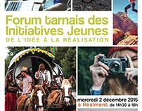 Programme du Forum tarnais des Initiatives jeunes, 2015