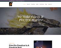 Film Pix Creative Website Design