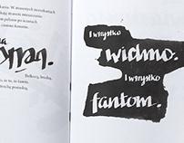 Poetry book design
