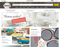 Sizzle.co.uk - The Kitchen Store from Ocado