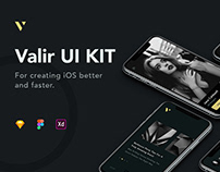 Valir Mobile UI KIT