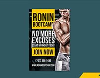 Ronin Bootcamp - Billboard by Konsus
