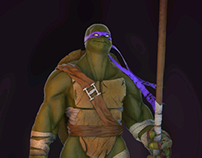Donatello fan art
