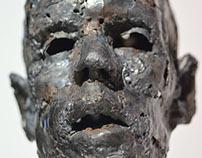 Portraits in metal / Sculpture