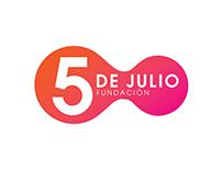 Fundación 5 de Julio - Identity Design