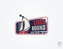 StageBound logo design