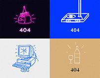 404 ERROR | Compilation