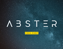 Abster Free Typeface