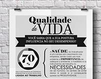 PÔSTER QUALIDADE DE VIDA NO TRABALHO