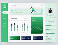Dashboard Design(Yoga)