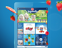 Web site design for Jogobella