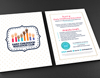 Early Childhood Education Flyer, Banner, and Poster