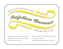 Benner Bridal Shower