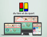Du tiers et du quart | webdesign refresh