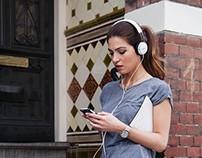 Citiscape Fixie Headphones