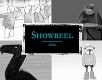 Animation Showreel 2016