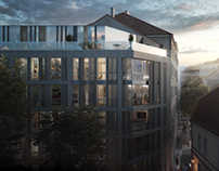 CG Residential project Hastalske namesti