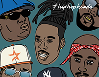 Hip Hop Heads / 01-15