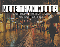 More Than Words - Theme Design and Brochure