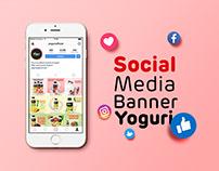 Social Media Banner Yoguri