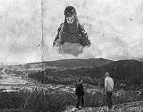 Godzilla/Signal Hill (Photoshop Manipulation)
