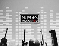 Nauges Music Shop Social Media Campaign Concept