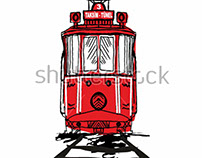 stock-vector--stanbul-tram-graphic-design-vector