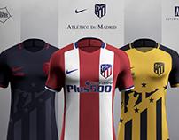Atletico de Madrid 2017/18 Concept - Nike