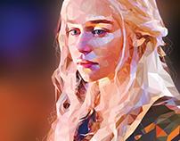 Daenerys - Polygonal Vector