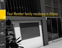 Portfolio Design | Family Residence in Athens