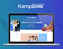 Design Mockup for Kampusmall.com