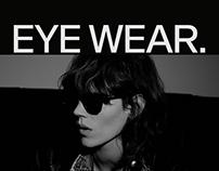 EYEWEAR E-Commerce Website UI Design Concept