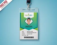 Free PSD : Multipurpose Photo Identity Card PSD