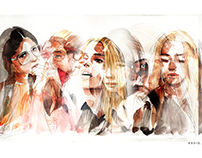 Fashion Portrait series