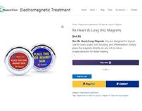 E-Commerce Web Design For A Health Supplement Company
